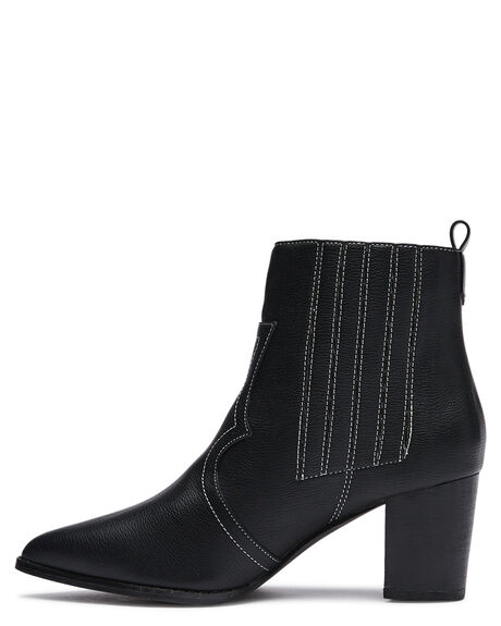 BLACK WOMENS FOOTWEAR ST SANA BOOTS - ST211W208BLK