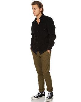 OLIVE MENS CLOTHING BRIXTON PANTS - 4044OLI