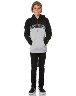BLACK KIDS BOYS ST GOLIATH JUMPERS + JACKETS - 2451018BLK