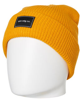 MUSTARD MENS ACCESSORIES RPM HEADWEAR - 9WAC02C8MSTD