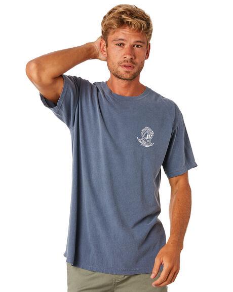 NAVY MENS CLOTHING THE SALTY MERCHANTS TEES - TSM-KIS-NVY