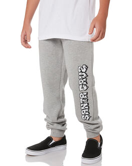 GREY HEATHER KIDS BOYS SANTA CRUZ PANTS - SC-YPA9206GRYH