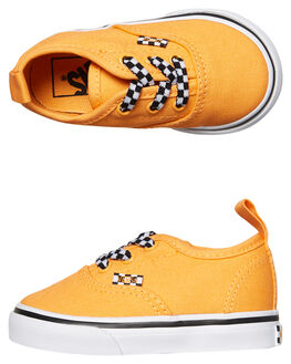 ORANGE POP WHITE KIDS TODDLER BOYS VANS FOOTWEAR - VNA38E8Q6FORG