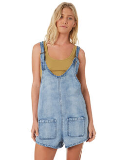 OCEAN WASH WOMENS CLOTHING BILLABONG PLAYSUITS + OVERALLS - 6581515MOCNW