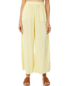 LEMON WOMENS CLOTHING RUE STIIC PANTS - SA-18-1-LYLEM