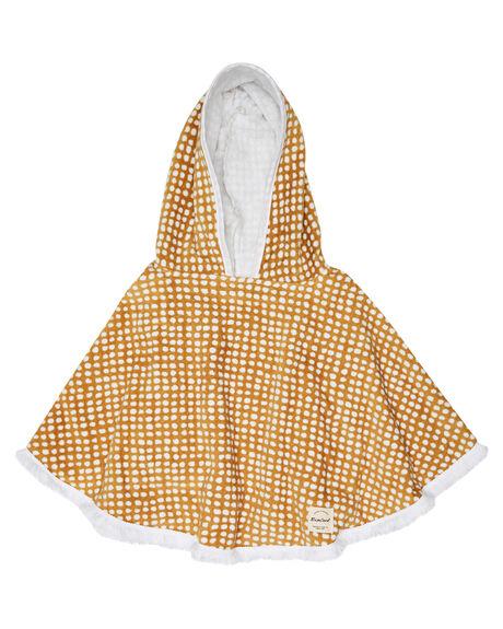 GOLD KIDS GIRLS RIP CURL TOWELS - FTWAL10146
