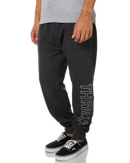 VINTAGE BLACK MENS CLOTHING THRILLS PANTS - TW7-401VBVBLK