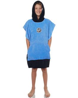 BLACK KIDS BOYS SANTA CRUZ TOWELS - SC-YAD7067BLK