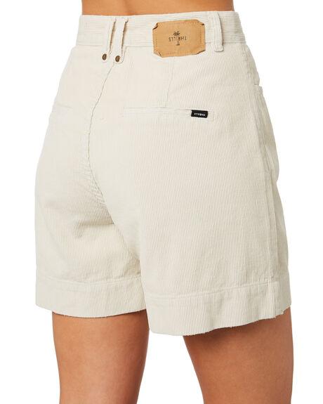 DIRTY WHITE WOMENS CLOTHING THRILLS SHORTS - WTR9-350ADRTWT