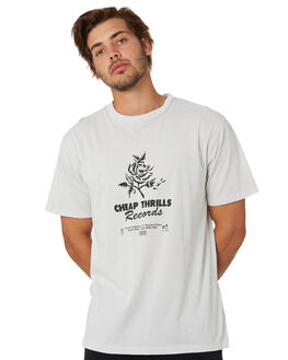 COOL GREY MENS CLOTHING THRILLS TEES - TA20-130GCOOLG