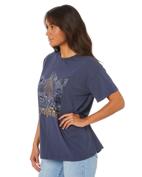 NAVY WOMENS CLOTHING ALL ABOUT EVE TEES - 6456166NAVY