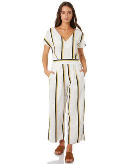 BONNEAU STRIPE WOMENS CLOTHING SANCIA PLAYSUITS + OVERALLS - 822ABON