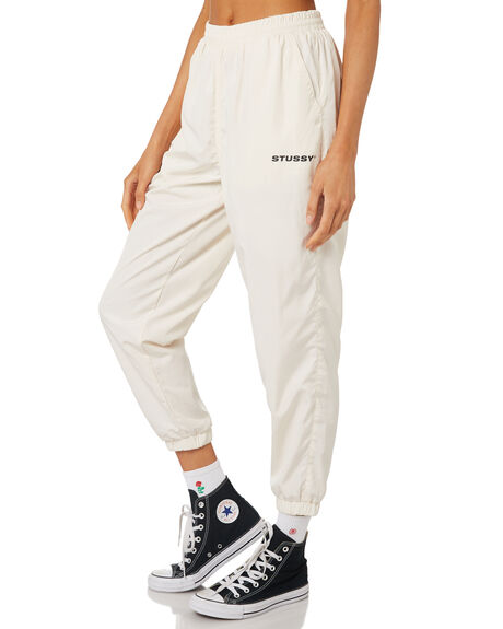 WHITE SAND WOMENS CLOTHING STUSSY PANTS - ST197615SAND