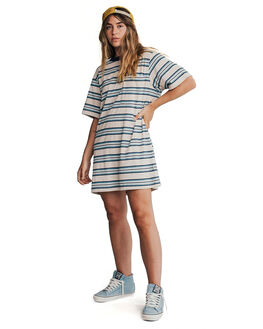 STORMY SEA WOMENS CLOTHING QUIKSILVER DRESSES - EQWKD03000-BLH3