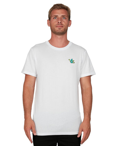 WHITE MENS CLOTHING VONZIPPER TEES - VZ-V901020-WHT