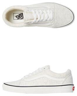 WHITE WHITE WOMENS FOOTWEAR VANS SNEAKERS - SSVNA38G1U5GSWHTW