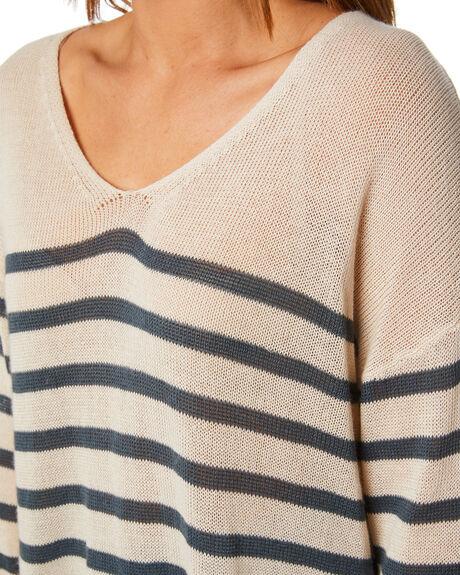 WHISPER WHITE WOMENS CLOTHING RUSTY KNITS + CARDIGANS - CKL0338-WWH