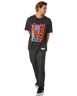 PIPPEN BLACK MENS CLOTHING MITCHELL AND NESS TEES - 4173VINTAGEPLAYERBLK