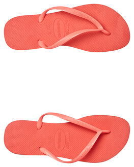 CORAL WOMENS FOOTWEAR HAVAIANAS THONGS - 40000306024
