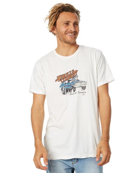 NATURAL MENS CLOTHING THRILLS TEES - TH7-141ANAT