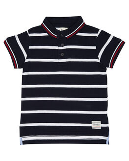 NAVY WHITE KIDS TODDLER BOYS ROOKIE BY THE ACADEMY BRAND TOPS - R19S413NVYWH