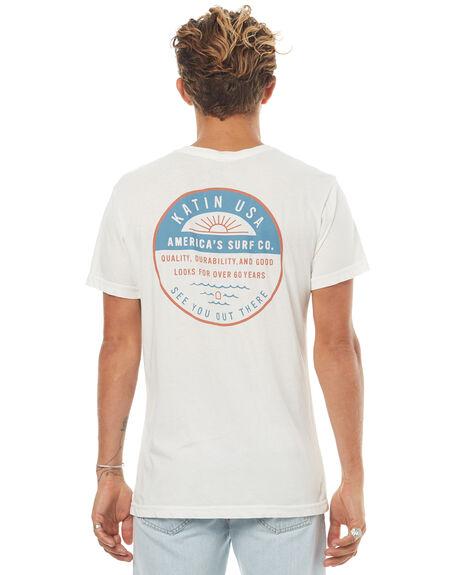 WHITE MENS CLOTHING KATIN TEES - TSARC16WHT