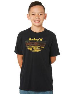 BLACK KIDS BOYS HURLEY TOPS - AQ8589-010