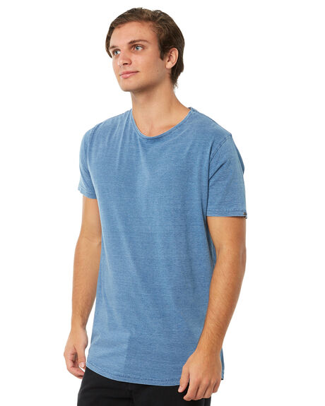 LIGHT BLUE OUTLET MENS SILENT THEORY TEES - 40X0018LBU