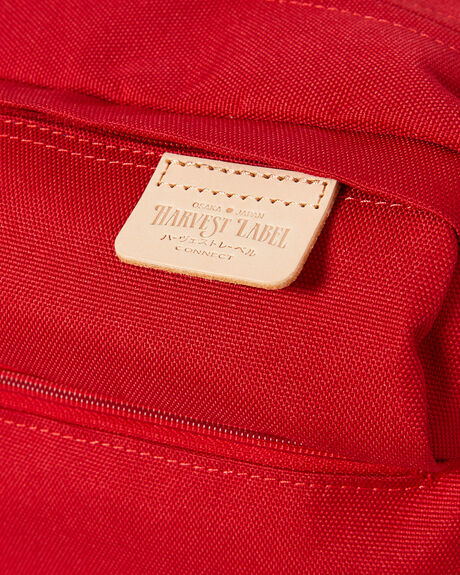 RED MENS ACCESSORIES HARVEST LABEL BAGS + BACKPACKS - HLO0953-RED