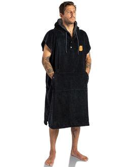 BLACK MENS ACCESSORIES SLOWTIDE TOWELS - ST078BLK