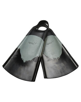 BLACK CHARCOAL BOARDSPORTS SURF HYDRO ACCESSORIES - HFIN-BCHBLKCH