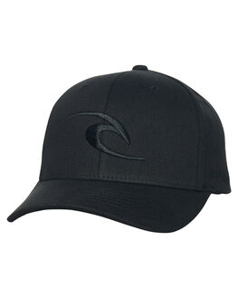 BLACK MENS ACCESSORIES RIP CURL HEADWEAR - CCAJY10090