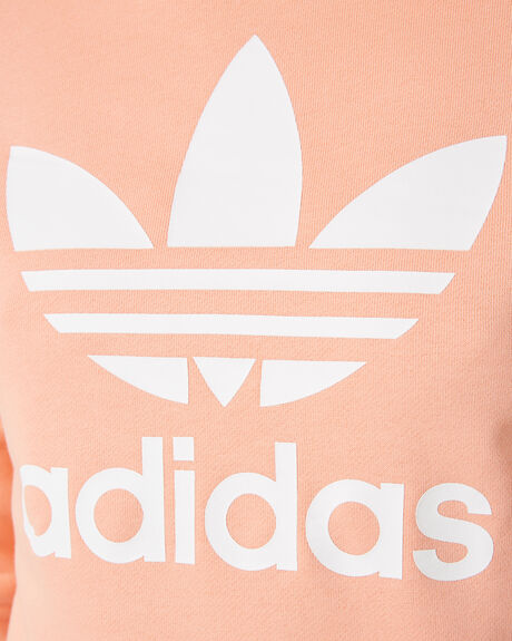 DUST PINK WOMENS CLOTHING ADIDAS JUMPERS - DV2627PNK