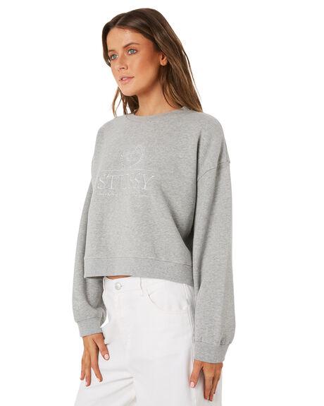GREYMARLE WOMENS CLOTHING STUSSY JUMPERS - ST181305GREYM