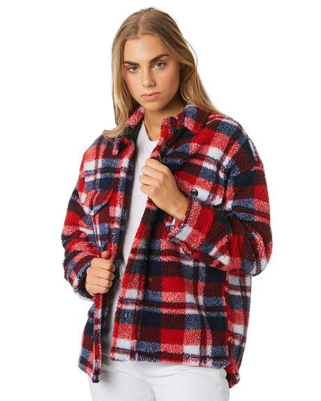 CHECK WOMENS CLOTHING THE HIDDEN WAY JACKETS - H8194383CHECK