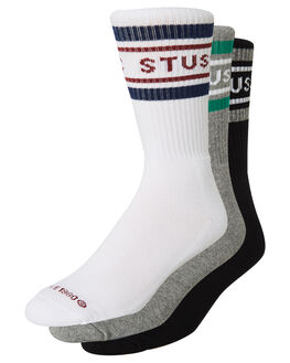 MULTI MENS CLOTHING STUSSY SOCKS + UNDERWEAR - ST795010MULTI