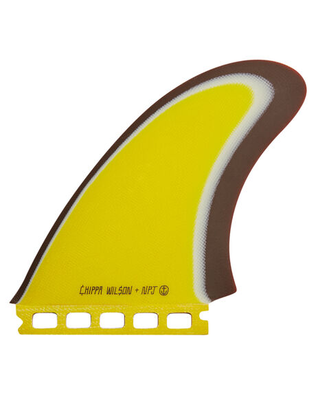 YELLOW BOARDSPORTS SURF CAPTAIN FIN CO. FINS - CFF2411704-YEL