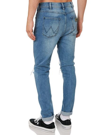 FRIDAYS INDIGO MENS CLOTHING WRANGLER JEANS - W-901351-GC1FRIND