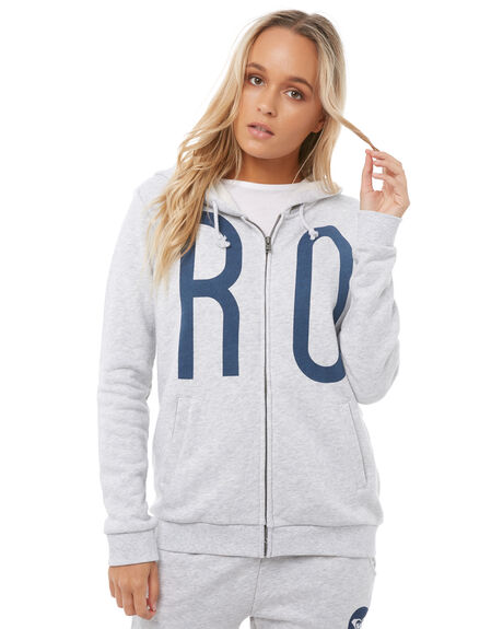 HERITAGE HEATHER WOMENS CLOTHING ROXY JUMPERS - ERJFT03723SGRH
