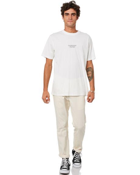 VINTAGE WHITE MENS CLOTHING THRILLS TEES - TA21-105AVWHT