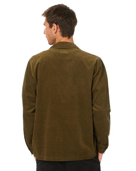 DARK OLIVE MENS CLOTHING DEPACTUS SHIRTS - D5204160DKOLV