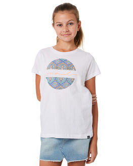 WHITE KIDS GIRLS RIP CURL TOPS - JTEDJ11000