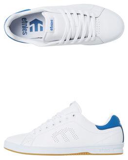 WHITE BLUE MENS FOOTWEAR ETNIES SNEAKERS - 4101000474-156