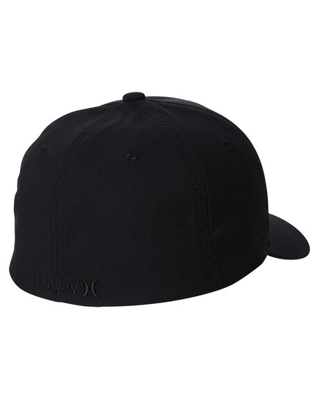 BLACK BLACK MENS ACCESSORIES HURLEY HEADWEAR - 892025038