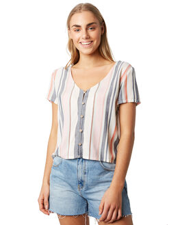 EARTH STRIPE WOMENS CLOTHING O'NEILL FASHION TOPS - 5421205EST