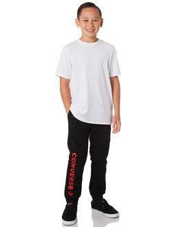 BLACK KIDS BOYS CONVERSE PANTS - R968348023