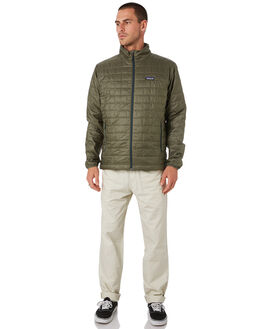 INDUSTRIAL GREEN MENS CLOTHING PATAGONIA JACKETS - 84212INDG