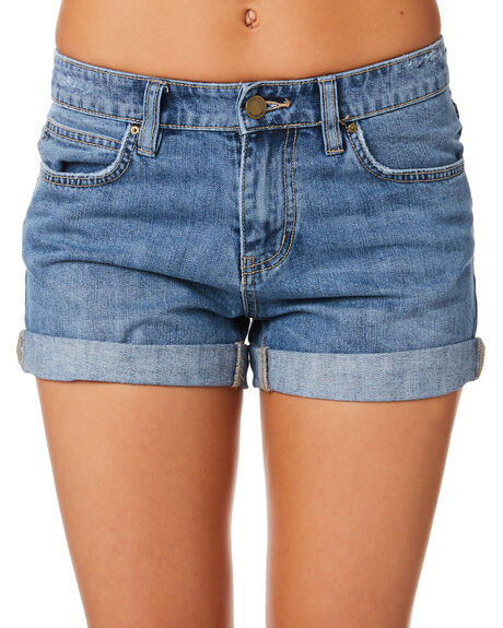 MALIBU BLUE WOMENS CLOTHING BILLABONG SHORTS - 6581282MAL