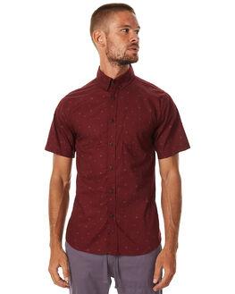 TEMPLE RED MENS CLOTHING KATIN SHIRTS - WVBANF16TRED