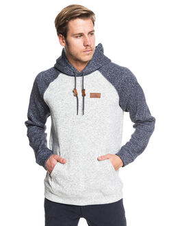LIGHT GREY HEATHER MENS CLOTHING QUIKSILVER JUMPERS - EQYFT04012-SJSH